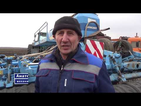 Труженики ООО «Урожай» первыми начали посев зерновых.