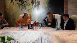 In Grid Sari Gelin na press konferenzii v Baku