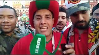 Les Marocains investissent la Place Rouge pour soutenir les Lions