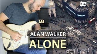Alan Walker - Alone - Electric Guitar Cover by Kfir Ochaion