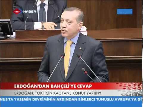 MHP'YE TOKİ , CHP'YE AYM ELEŞTİRİSİ