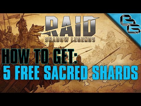RAID: Shadow Legends | How to get 5 FREE Sacred Shards in 35 Days !! | F2P | 2019
