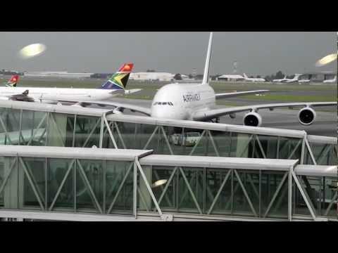 Airbus A380 – Nikon Coolpix P7000 video