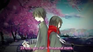 【Nightcore】→ A Thousand Years ( Switching Vocals ) || Lyrics