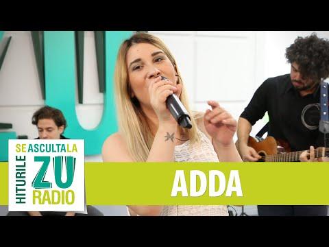 ADDA - Raza Mea de Soare (Starile Addei) (Live la Radio ZU)
