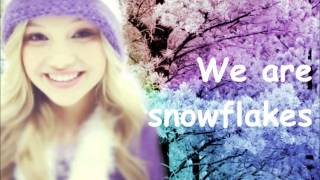 Olivia Holt - Snowflakes (Lyrics) ❅♥
