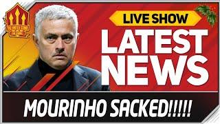 MOURINHO SACKED! Man Utd News Now