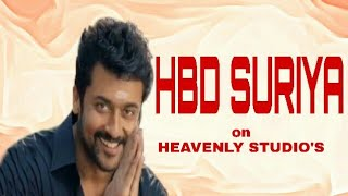Happy Birthday SURIYA video on HEAVENLY STUDIO'S | HBD SURIYA |A SURIYA EDIT HOUSE |