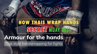 How Muay Thai Fighters Wrap Hands: Secret Armour for Power