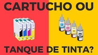 Cartucho ou Tanque de Tinta: Qual impressora vale mais a pena [COMPARATIVO]