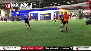 Real Michoacán vs Nacional FC AKD Women Premier Academy Soccer League