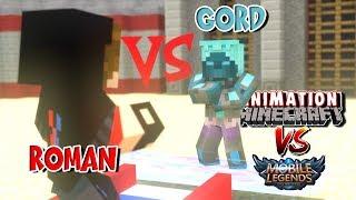 """Roman VS Gord"" Mobile Legend | Turnamen Animasi Minecraft"