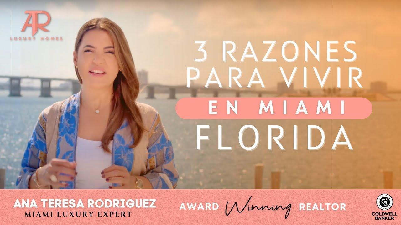 3 razones para vivir en #Florida
