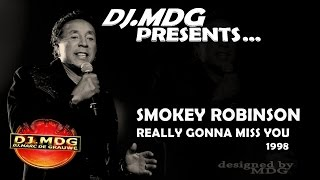 SMOKEY ROBINSON - Really Gonna Miss You (1998)