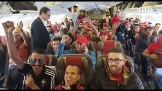 Les supporters marocains en route pour la Russie