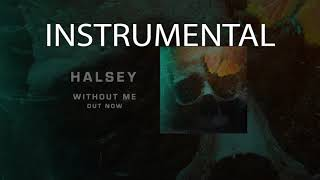 Halsey Without Me - Instrumental Official remake
