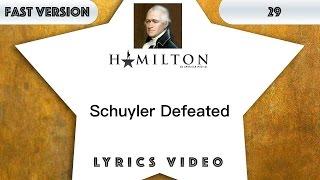 29 episode: Hamilton - Schuyler Defeated [Music Lyrics] - 3x faster