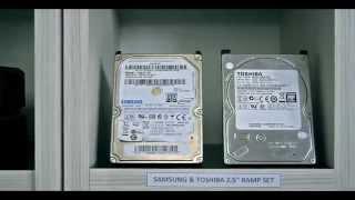 Samsung & Toshiba 2.5'' Ramp Set teaser - HddSurgery