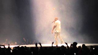Kanye West Jesus Walks Mask Unveiled Concert Washington DC Yeezus