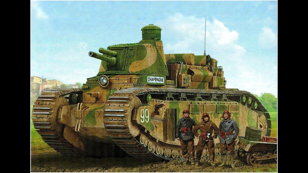 Char 2C - The World's Biggest Operational Tank