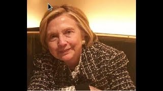 HILLARY CLINTON GETS STANDING OVATION IN NY RESTAURANT! LOOKS LIKE DEATH!