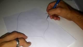 Desenhando Jaqueta (touca)
