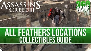 Assassin's Creed II All Feathers Locations - In Memory of Petruccio Achievement / Trophy Guide