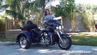 New 2014 Harley Davidson Tri Glide Ultra Trike for Sale - St. Petersburg, FL