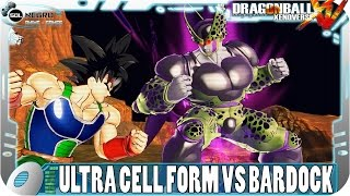New Ultra Perfect Cell Form Meets Bardock   Dragon Ball Xenoverse Gameplay Mod