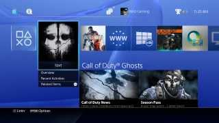 PS4 Playstation 4 Boot Start Up Intro Into The New World of Gaming MAD Gaming HD