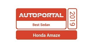 Autoportal Best Sedan 2019 – Honda Amaze
