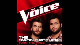 """The Swon Brothers: """"Turn The Page"""" - The Voice (Studio Version)"""