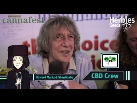Howard Marks & Shanti Baba @ Cannafest 2013 Prague / Praha - Mr Nice Seeds