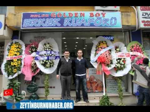 Zeytinburnu'nun En Lüks Golden Boy Erkek Kuaförü Açıldı