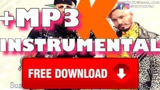 Nicky Jam ❌ J Balvin - X (EQUIS) REMAKE/BEAT INSTRUMENTAL) FREE DOWNLOAD 2018