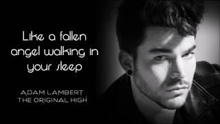 Adam Lambert - Evil In The Night Lyrics