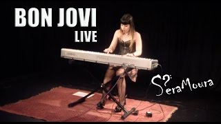 Bon Jovi - Livin' On a Prayer - Live at Gambalaia - SP/Brazil (cover/piano)