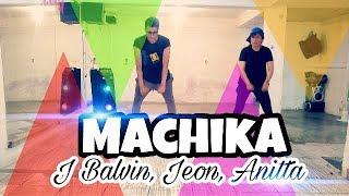 J. Balvin X Jeon X Anitta - Machika (Remix Dj Valdis) Zumba 2018