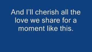 Leona lewis - A moment like this (with lyrics)