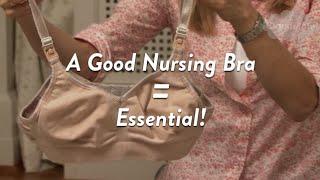 A Good Nursing Bra is Essential to a Breastfeeding Mom   CloudMom width=