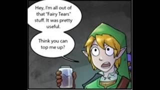 Comic Dub: Fairy Tears (Legend of Zelda)