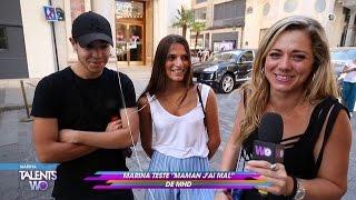 """Marina teste """"Maman j'ai mal"""" de MHD"""