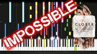 The Chainsmokers - Closer ft. Halsey - IMPOSSIBLE PIANO Tutorial by PlutaX