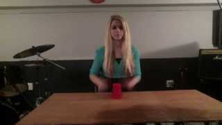 Pharrell Williams- Happy (Cover with the Cups Song) By Bethany Zorn