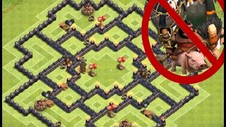 Best Town Hall 9(TH 9) Farming Base   100% DE Protection (Anti-Everything)