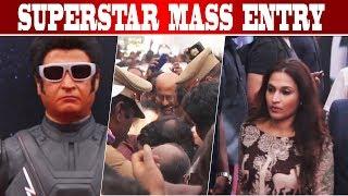 Supestar Rajinikanth Mass Entry I 2 Point O Trailer Launch I Rajnikanth, Shankar,Ar Rahman I C5D