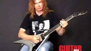 Dave Mustaine (Megadeth) - Symphony of Destruction lesson