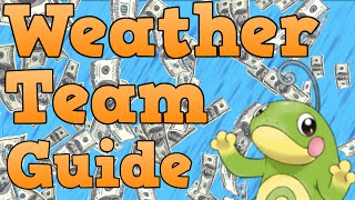 How to Build Weather Teams - Pokemon Teambuilding Guide
