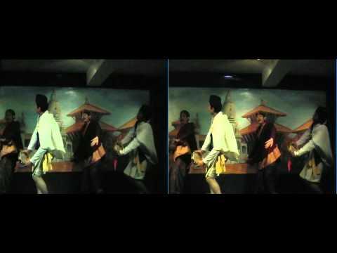 Nepalskie tańce w 3D – test