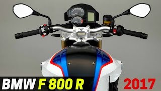 LOOK! 2017 BMW F800R Updated Instrument Panels with New Dials and Changes to The Display